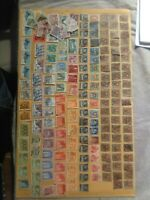HELVETIA SWITZERLAND STAMP COLLECTION 1890 - 1950'S OVER 200 STAMPS 19TH CENTURY
