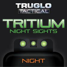 TruGlo Tactical Tritium Handgun Sights - Sig Sauer 8/8 -TG231S1 - Green/Green
