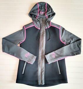 Kutting Weight Women's M Neoprene Black Gray Pink Long Sleeve Sauna Hoodie