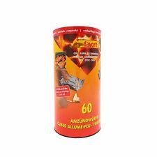 Favorit Anzündwürfel in der Dose, 60 Stück, einzeln verpackt | Grillanzünder