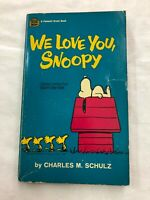 We Love You Snoopy Charles Schulz Fawcett Crest Book Humor