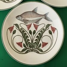 Beautiful highly collectable Villeroy & Boch Atlantic fish dinner plates.