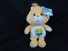 CARE BEARS ~ FRIEND Bear 20th Anniversary 2002 ~ Orange Bean Bag Plush ~ NWT