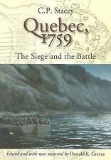 Quebec, 1759: The Siege and the Battle, C. P. Stacey, Good Book
