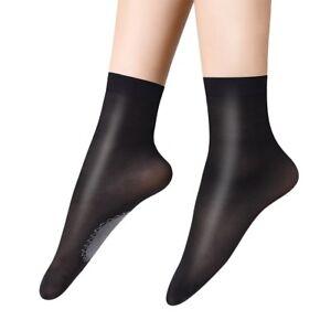 6 pairs Women's Ankle Socks Sexy Elastic Silky Short Silk Stockings Tights Socks