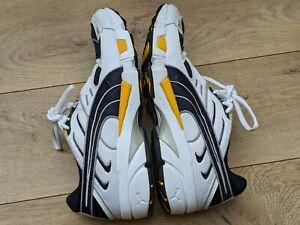 Men's PUMA Complete Extol Blue/Gray/White/Yellow Lightweight Running Shoes US 9