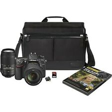 Brand New Nikon-D7100 Digital SLR Camera with 2 VR Lenses, SD Card, and more