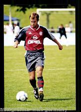 Mehmet Scholl Bayern München 2001-02 seltenes Foto