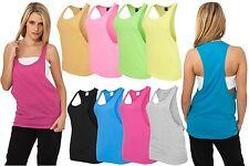 URBAN CLASSICS LADIES LOOSE TANK TOP  Damen Lady T-Shirt Neon Sommer Tee Bandeau