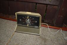 Vintage Sears Silvertone Solid State AM Clock Radio Working in its original box