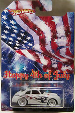 "Hot Wheels CUSTOM PORSCHE OUTLAW ""Happy 4th Of July"" Real Riders 1/25 Made !!!"