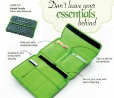 Nutrimetics Green Lady Smart Portable Tablet Phone Pouch Limited Edition