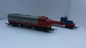 Tri-ang Railways Transcontinental Loco 4008 & R128 For Spares
