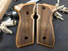 Beretta 92F, 92FS, M9, 96 Walnut Wood Grips. Handmade A Quality. US Based Seller
