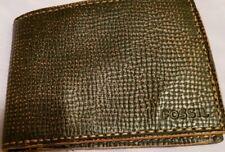 "Brand New Fossil ""Shane Intl Bifold"" Leather Men's Wallet"