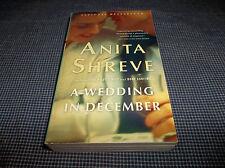 A Wedding in December by Anita Shreve (2007, Paperback)