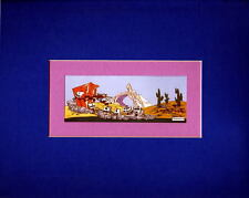 The FANATIC PROFESSIONALLY MATTED PRINT Looney Tunes Wile E Coyote