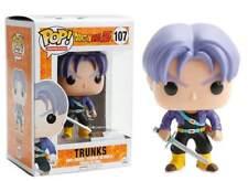 Dragon Ball Z Trunks Pop! Funko animation Vinyl Figure n° 107