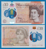 Great Britain England 10 Pounds P 395 2016 (2020) New Signature UNC Polymer UK
