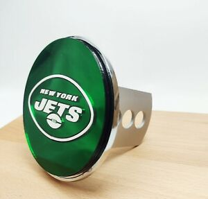 Laser Cut Metal Hitch Cover - NFL - New York Jets