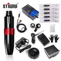 Stigma Tatttoo Kit Motor Pen Tattoo Power Supply Cartridges Tattoo Machine Kit