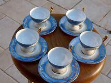 Service à Café Moka de 5 tasses et 8 sous-tasses