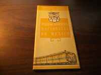 SEPTEMBER 1967 FNM  NdeM NATIONAL OF MEXICO SYSTEM PUBLIC TIMETABLE