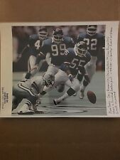 NY Giants  Gary Reason Sporting News unsigned 8x10 photo