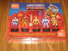 MASTERS OF THE UNIVERSE BATTLE FOR ETERNIA COLLECTION 5 FIGURE SET NEW