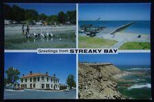 Greetings from Streaky Bay SA c1970's Postcard (P240)