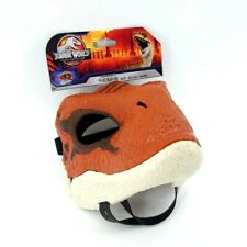 Jurassic World Legacy Collection Realistic Brown Velociraptor Child's Mask - New