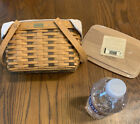 Longaberger Home Office 10th Anniversary Basket Signed by Jerry and Wendy