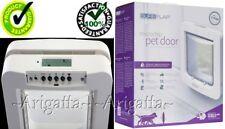 Puerta Mascota SureFlap Original Blanco 32 Microchip IDS Grande Cat/Small Dog Collar de RFID