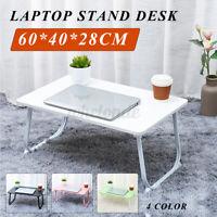 Bed Desk Tray Foldable Portable Multifunction Laptop Desk Lazy Laptop Table US