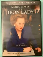 The Iron Lady (DVD Region 1, 2012, Widescreen) Meryl Streep