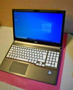 """Fujitsu Lifebook E756 15,6"""" IPS Core i7 6600U 8GB RAM 256GB SSD DVD RW Win10"""