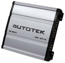 Autotek Ss1500.4 Super Sport Series 1,500-watt 4-channel Class Ab Amp huge power