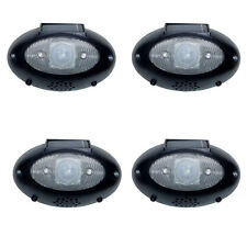 HomeBrite Eye Watch 4 PACK Solar-Powered Light Talking Security Motion Detector
