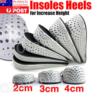 Unisex Insole Heel Lift Insert Shoe Pad Height Increase Cushion Elevator_Taller.