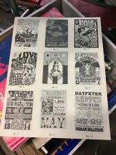 1967 MOUSE KELLEY Dead Jefferson FAMILY DOG AVALON FILLMORE ERA POSTER Catalog