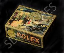 BEAUTIFUL WATCH BOX FOR ROLEX POCKET WATCH ADVERTISING GIFT WRISTWATCH