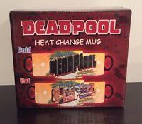 Marvel Comics Deadpool Heat Changing Coffee Mug Tea Cup Merc With The Mouth Taco