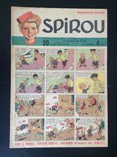 TRES RARE Supplement gratuit au Journal Spirou N° 547 de 1948 TRES BON ETAT