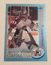 2002-03 O-Pee-Chee Patrick Roy Blue Parallel #317 Hockey Card #152/500 Nr/Mt
