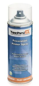 Clear Plastic Primer Spray 400ml Adhesion Promoter Bumpers & Vehicle Plastics