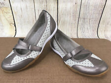PRIVO By CLARKS Bronze Leather Mary Janes Comfort Women's Shoes Sz 6 M      F4(5