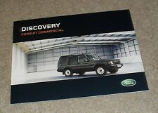 Land Rover Discovery Pursuit Commercial Brochure 2004 - TD5