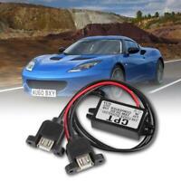 CPT-UL-5 Dual USB Converter Regulator DC to DC 12V To 5V 3A 15W Voltage Adapter*