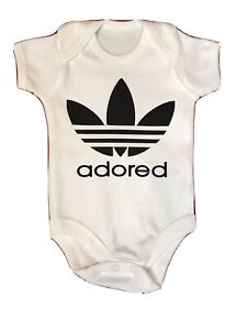 STONE ROSES INSPIRED ADORED BABY GROW