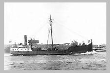 INAHA - Sth Taranaki Shipping, New Zealand 1924 modern digital Photo Postcard